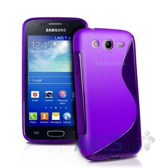 Чехол Celebrity TPU cover case for Samsung  S7270 Galaxy Ace 3 Purple