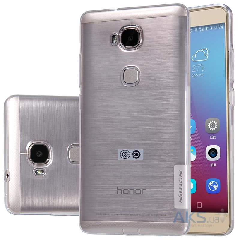 Чехол Nillkin Nature Series Huawei Honor 5X, Honor GR5 Transparent