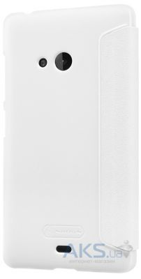 Чехол Nillkin Sparkle Leather Series Microsoft Lumia 540 White