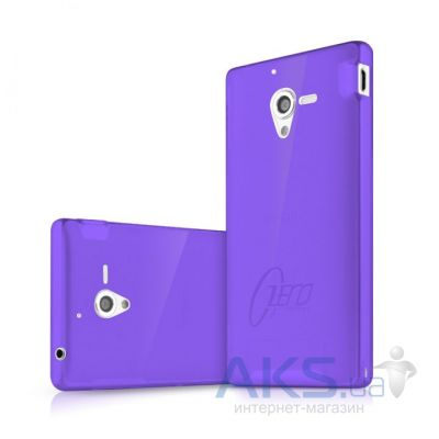 Чехол ITSkins Zero.3 cover case for Sony Xperia ZL Purple (YZL ZERO3 PRPL)