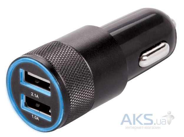 Зарядное устройство EasyLink Dual USB Car Charger Black (EL-140)