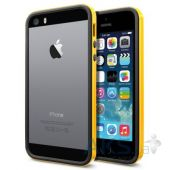 Чехол SGP Case Neo Hybrid EX Slim Vivid Series for iPhone 5/5S Reventon Yellow (SGP10028)