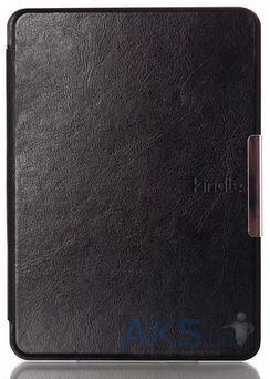 Обложка (чехол) Leather case for Amazon Kindle 6 Black