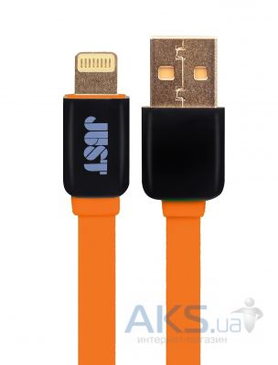 Кабель USB JUST Rainbow Lightning Cable Orange (LGTNG-RNBW-RNG)