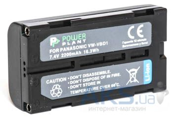 Аккумулятор Panasonic VW-VBD1, BN-V812 2200mAh (DV00DV1340) PowerPlant