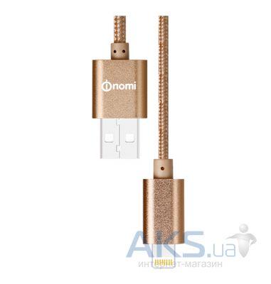 Кабель USB-Apple 8pin lightning Ritmix RCC-322 Blue силиконовая оплетка металлические коннекторы 1м 2А зарядка и синхронизация