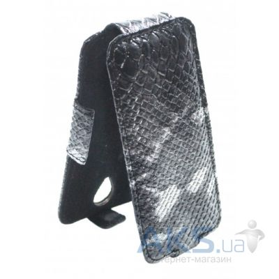 Чехол Sirius flip case for Samsung G530 Galaxy Grand Prime Grey Snake