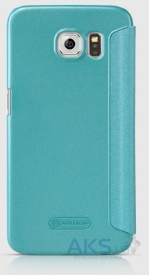 Чехол Nillkin Sparkle Leather Series Samsung G920F/G920D Duos  Galaxy S6 Aqua