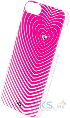 Чехол White Diamonds Heartbeat Pink Apple iPhone 5, iPhone 5S, iPhone 5SE (1210HBT41)
