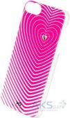 Чехол White Diamonds Heartbeat Pink Apple iPhone 5, iPhone 5S, iPhone SE (1210HBT41)