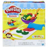 Набор для лепки Hasbro Play-Doh Приготовь и нарежь на дольки (B9012)