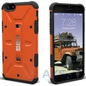 Вид 3 - Чехол UAG Urban Armor Gear Apple iPhone 6/6S Plus Outland Orange (IPH6/6SPLS-RST-VP)
