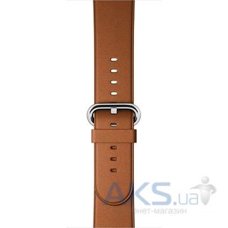 Apple Classic Buckle Saddle for Apple Watch 38mm Brown (MLDY2)