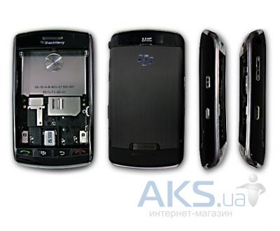 Корпус Blackberry 9500 Storm Black