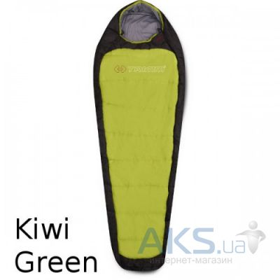 Спальный мешок Trimm IMPACT 195 R kiwi green / dark grey (зелений)
