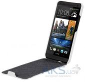 Вид 2 - Чехол Melkco Jacka leather case for HTC One White (O2O2M7LCJT1WELC)