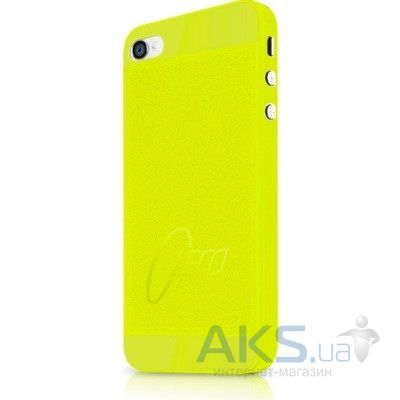 Чехол ITSkins ZERO.3 for iPhone 4/iPhone 4S Yellow (AP4S-ZERO3-YELW)