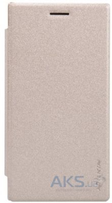 Чехол Nillkin Sparkle Leather Series Nokia Lumia 830 Gold
