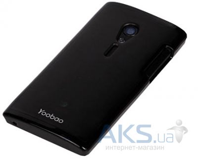 Чехол Yoobao 2 in 1 Protect case for Sony Xperia Ion LT28i Black (PCSONYLT28I-BK)