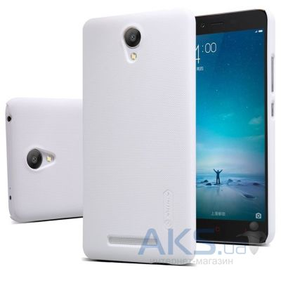 Чехол Nillkin Super Frosted Shield Xiaomi Redmi Note 2 White