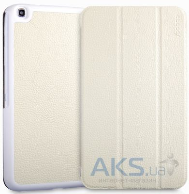 Чехол для планшета Yoobao Slim leather case for Samsung T310 Galaxy Tab 3 8.0 White (LCSAMT310-SWT)