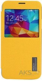 Чехол Rock Elegant Series Samsung G900 Galaxy S5 Lemon Yellow