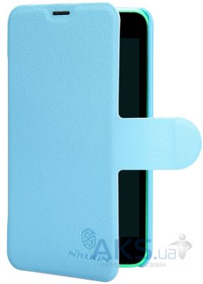 Чехол Nillkin Fresh Leather Series Nokia Lumia 630 Blue