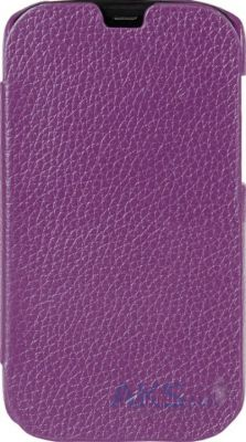 Чехол Melkco Book Leather Case for HTC One Mini Purple (O2O2M4LCFB2PELC)