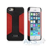 Чехол iCarer Colorblock Apple iPhone 5, iPhone 5S, iPhone SE Black/Red