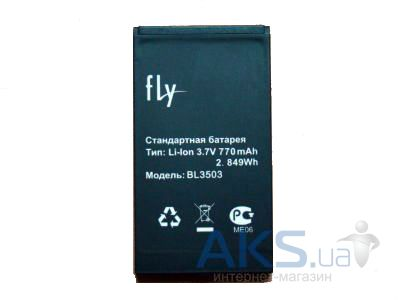 Аккумулятор Fly DS180 / BL3503 (770 mAh) Original
