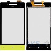 Сенсор (тачскрин) для HTC 8S A620e Windows Phone Yellow