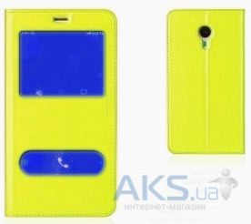Чехол Book Cover TPU Xiaomi Redmi Note 2 Yellow