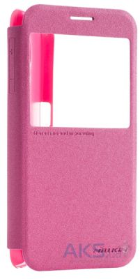 Чехол Nillkin Sparkle Leather Series Samsung G920F Galaxy S6 Pink