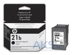 Картридж HP DJ No. 21 simple (C9351BE) Black