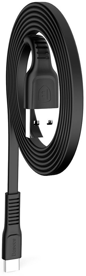 Кабель USB Baseus Tough Type-C Cable Black (CATZY-B01)