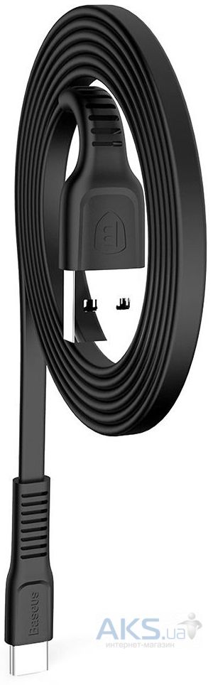 Кабель USB Baseus Tough Type-C Cable Black (CATZY-B01) - фото 3