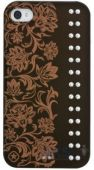 Чехол Bling My Thing Opaque Color Case for iPhone 4/4S : Elegance / Dark Chocolate / Crystal (BMTS-11-18-10-01)