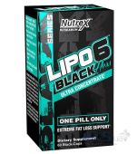 Жироспалювачі Nutrex Lipo-6 Black Hers Ultra Concentrate 60 капсул