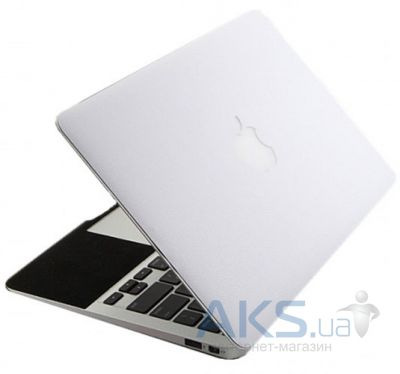 "Защитная пленка SGP Leather Laptop Cover Skin White for MacBook Air 13"" 2010/11"