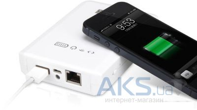 Внешний аккумулятор Yoobao Power Bank + Wi-Fi10400 mAh Mytour YB-658, [PBYB658-WT] White