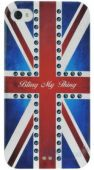 Чехол Bling My Thing Case for iPhone 4/4S - GOD SAVE THE BLING! / Retro Union Jack Montana (BMTS-11-21-12-45)