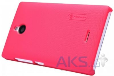 Чехол Nillkin Super Frosted Shield Nokia X2 Pink