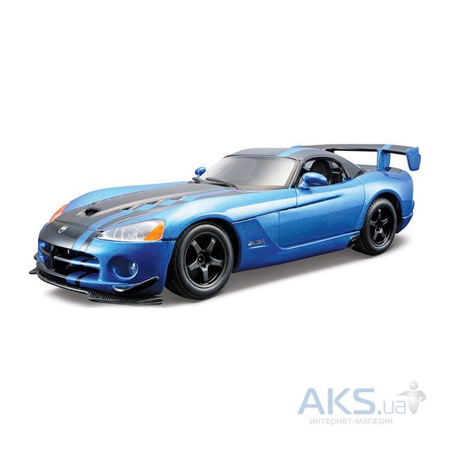 Автомодель Bburago Авто-конструктор DODGE VIPER SRT10 ACR (2008),1:24 (18-25091)