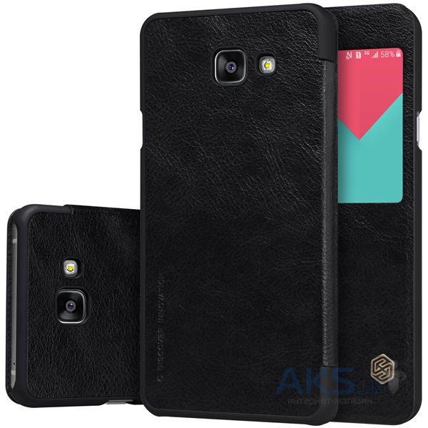 Чехол Nillkin Qin Leather Series Samsung A510 Galaxy A5 2016 Black