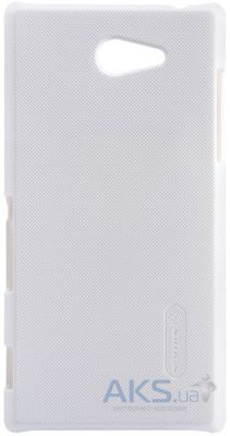 Чехол Nillkin Super Frosted Shield Sony Xperia M2 white