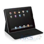 Чехол для планшета Macally Protective Case with Rotatable Stand for iPad 3/4 Black (SHELLSTAND-3B)