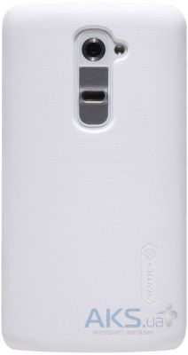 Чехол Nillkin Super Frosted Shield LG Optimus G2 D802, D805 White