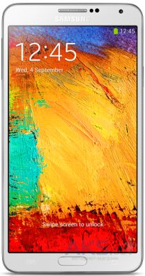 Дисплей (экран) для телефона Samsung Galaxy Note 3 N900, Galaxy Note 3 N9000 + Touchscreen with frame Original White