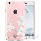 Чехол Hoco Super Star Inner Diamond Flower Apple iPhone 6 Plus, iPhone 6S Plus Lily