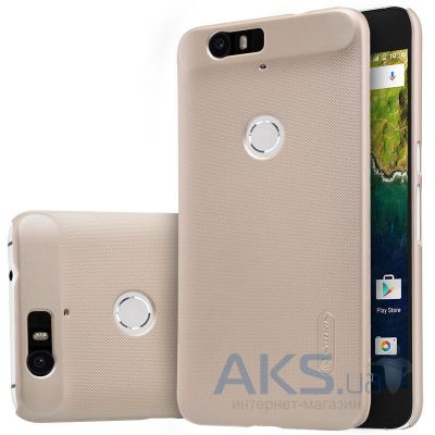 Чехол Nillkin Super Frosted Shield Huawei Nexus 6P Gold